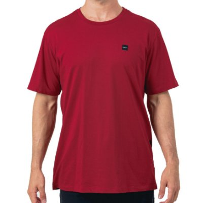 Camiseta Oakley Patch 2.0 Masculina Vermelho