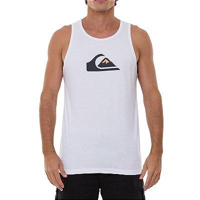 Regata Quiksilver Comp Logo Masculina Branco