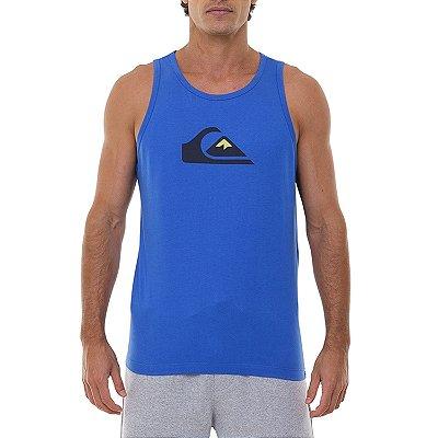 Regata Quiksilver Comp Logo Masculina Azul
