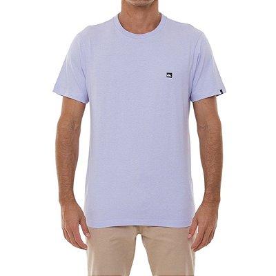Camiseta Quiksilver Transfer Masculina Lilas