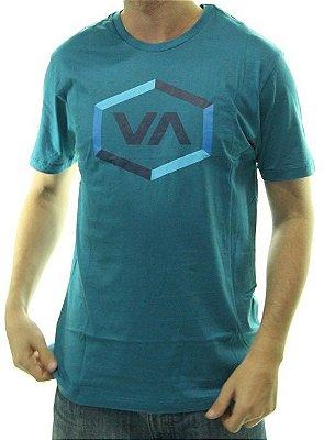 Camiseta RVCA Hex 2 Azul