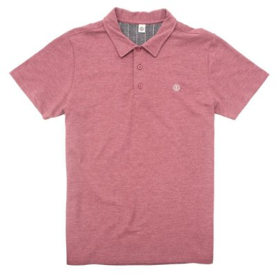 Camisa Polo Element Logo Bordo