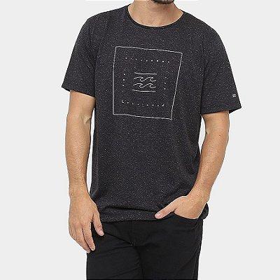 Camiseta Billabong Quadrant Preto