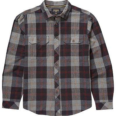Camisa Billabong M/L Grayson Xadrez Cinza Escuro