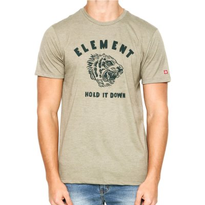 Camiseta Element Hold It Down Verde