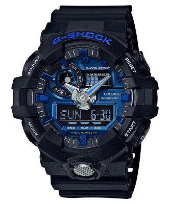 Relógio G-Shock GA-710 Preto/Azul