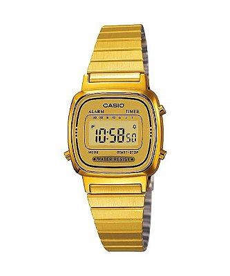 Relógio Casio Vintage LA670WGA Dourado