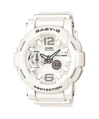 21ae64207eb Relógio Baby-G BGA-180 Branco