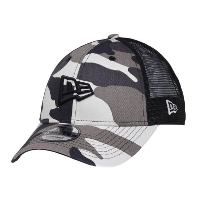 Boné New Era 940 SN Trucker NE Flag Camuflado