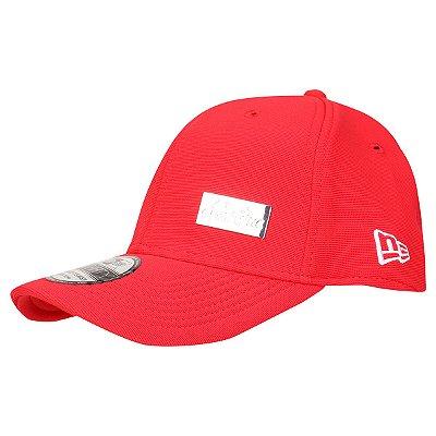 Boné New Era 3930 HC Pin Vermelho