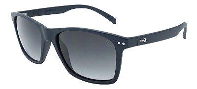 Óculos de Sol HB NeverMind Matte Navy | Gradient Gray