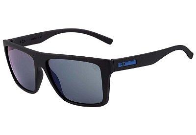Óculos de Sol HB Floyd Matte Black | Blue Chrome