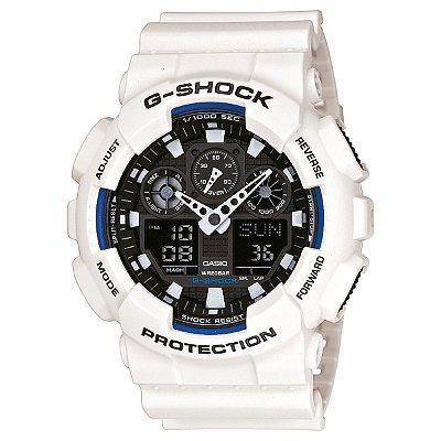 Relógio G-Shock GA-100B Branco