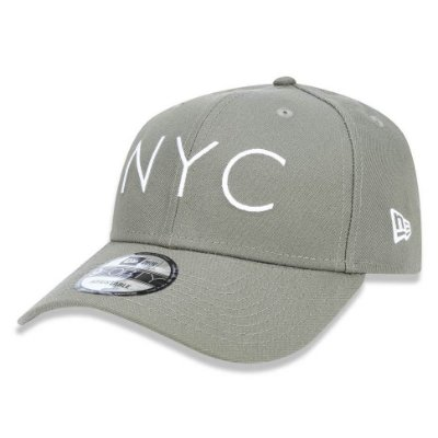 Boné New Era 940 NYC New York City Verde