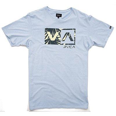 Camiseta RVCA Dayoh 20 Azul Claro