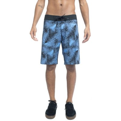 Bermuda Element Boardshort Leafage Azul