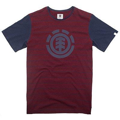 Camiseta Element Two Colors Vermelho/Marinho