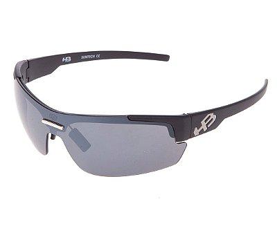 Óculos de Sol HB HighLander 3B Matte Black | Flash Mirror