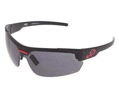 Óculos de Sol HB HighLander 3B Matte Black D. Red   Gray