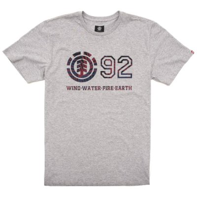 Camiseta Element Horizontal Fill Cinza