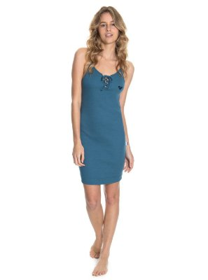 Vestido Roxy Fresh Shadow Azul