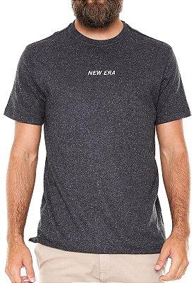 Camiseta New Era Botonê Cinza Escuro