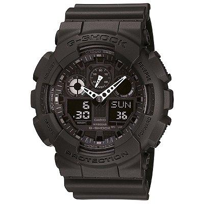 Relógio G-Shock GA-100 Preto