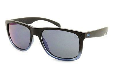 Óculos de Sol HB Ozzie Fade Black / Blue l Blue Chrome