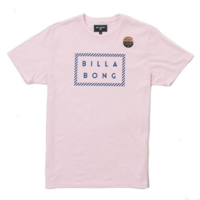 Camiseta Billabong Front Die Cut Rosa