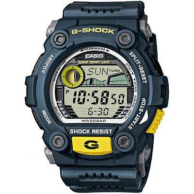 Relógio G-Shock G-7900-2DR Azul/Amarelo