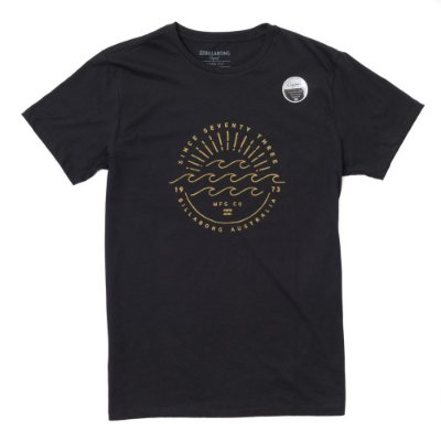 Camiseta Billabong Horizon II Preta