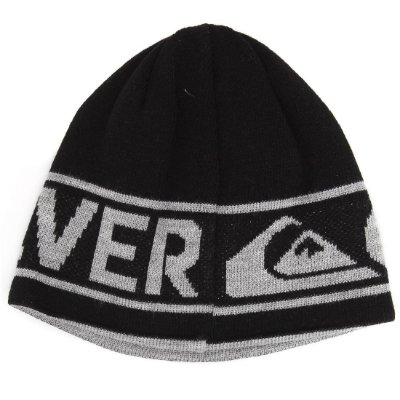 Gorro Quiksilver Out Of Bonds Update Preto/Cinza