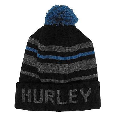 Gorro Hurley Outdoor Preto/Azul