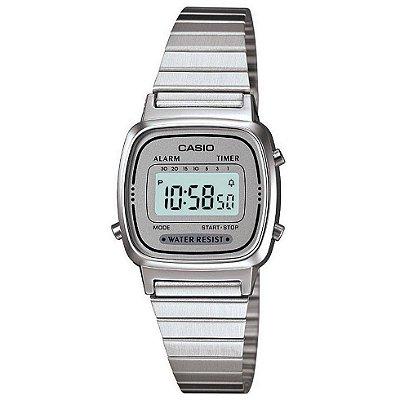 Relógio Casio Vintage LA670WA-7DF Prata