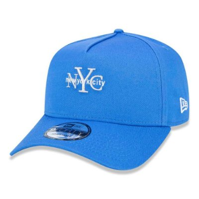 Boné New Era 940 A-Frame Veranito New York City Azul