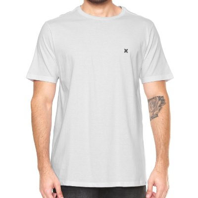 Camiseta Hurley Silk Icon Branca