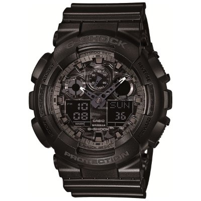 Relógio G-Shock GA-100CF-1ADR Preto
