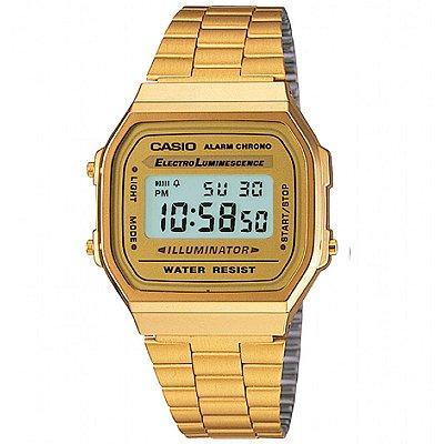 Relógio Casio Vintage A168WG-9WDF-BR Dourado