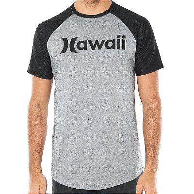 Camiseta Hurley Especial Hawaii Cinza/Preta
