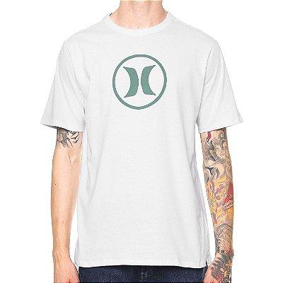 Camiseta Hurley Silk Circle Icon Branca