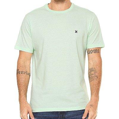 Camiseta Hurley Silk Icon Verde Claro