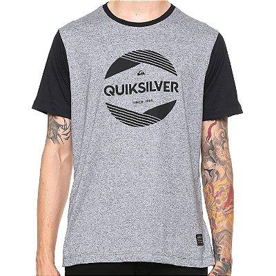 Camiseta Quiksilver Especial Pack Avant Cinza