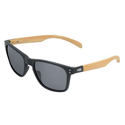 Óculos de Sol HB Gipps II Matte Black / Wood l Gray