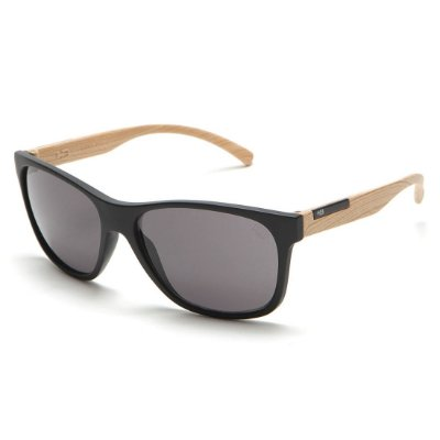 Óculos de Sol HB Underground Matte Black / Wood l Gray