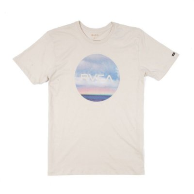 Camiseta RVCA Horizon Motors Bege