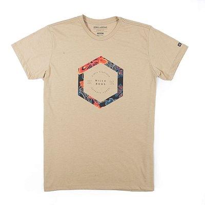 Camiseta Billabong Access Border Caqui