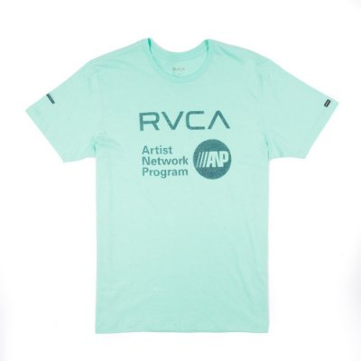 Camiseta RVCA Anp Fill Verde Claro