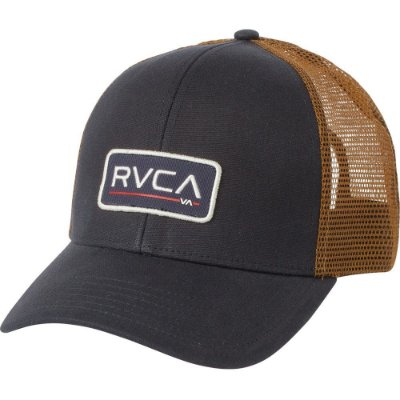 Boné RVCA Snap Ticket II Truck Azul/Marrom