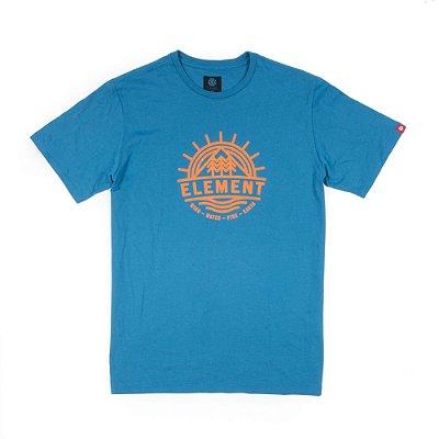 Camiseta Element Factor SS Azul