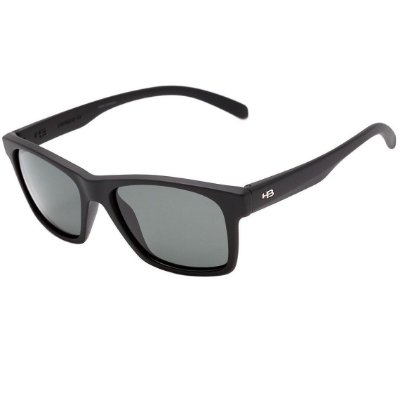 Óculos de Sol HB Unafraid Matte Black | Polarized Gray